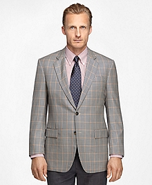 Madison Fit Plaid Sport Coat