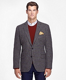 Fitzgerald Fit Harris Tweed Houndstooth Sport Coat