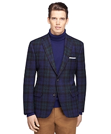 Own Make Harris Tweed Black Watch Sport Coat