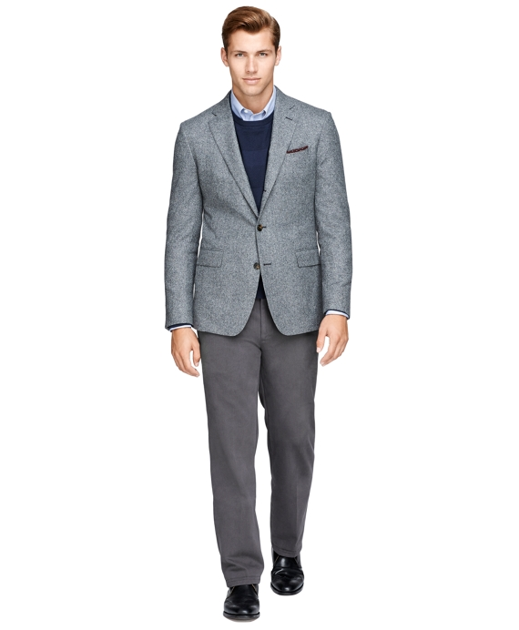 Men's Slim Fit Donegal Tweed Sport Coat | Brooks Brothers