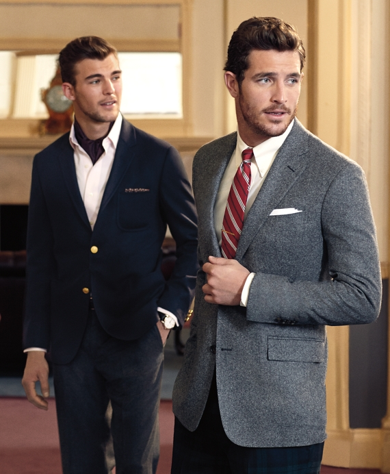 Men's Slim Fit Donegal Tweed Sport Coat | Brooks Brothers