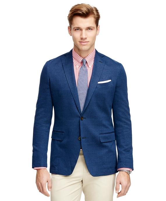 Fitzgerald Fit Herringbone Sport Coat Blue