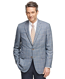 Madison Fit BrooksCool® Windowpane Sport Coat