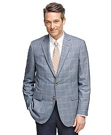 Madison Fit BrooksCool® Windowpane Sport Coat
