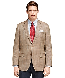 Fitzgerald Fit Herringbone with Windowpane Sport Coat