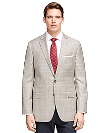 Fitzgerald Fit BrooksCool® Mini Check Sport Coat