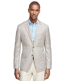 Milano Fit BrooksCool® Mini Check Sport Coat