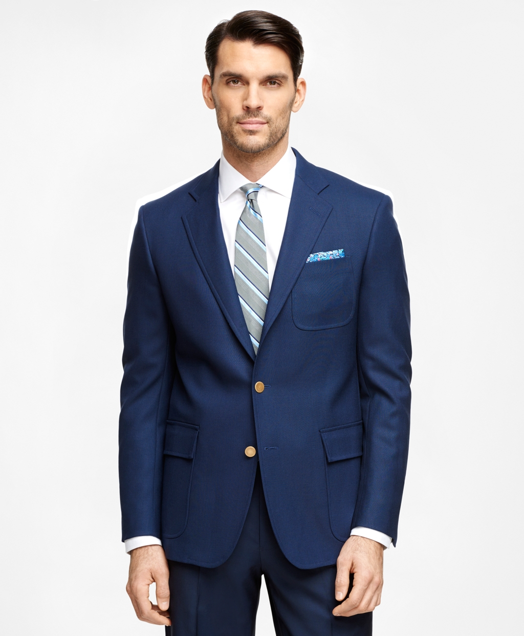 Men's Slim Fit Own Make Navy Sport Coat | Brooks Brothers