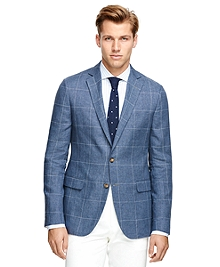 Fitzgerald Fit Windowpane Sport Coat