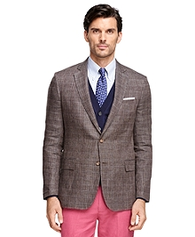 Regent Fit Plaid with Windowpane Sport Coat