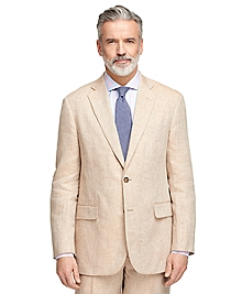 Madison Fit Linen Herringbone Sport Coat