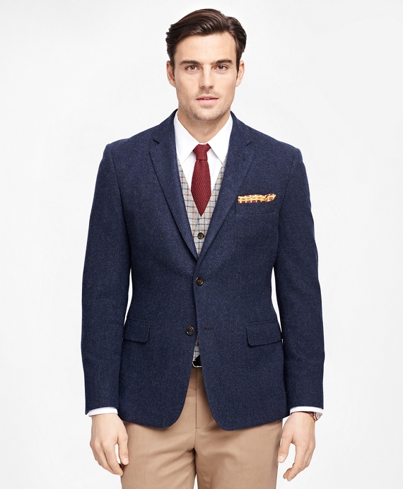Men's Extra Slim Fit Two-Button Wool Sport Coat | Brooks Brothers
