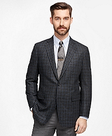 Regent Fit Large Check Sport Coat