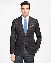 Fitzgerald Fit BrooksCool® Windowpane Sport Coat