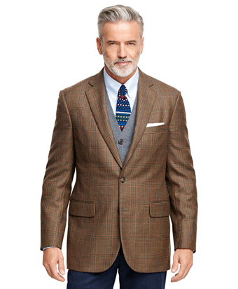Madison Fit Multi Plaid Sport Coat