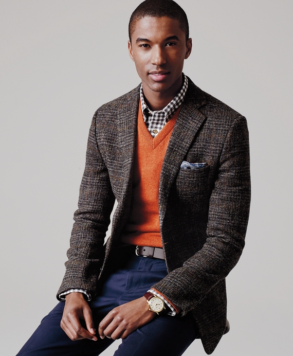 Men's Fitzgerald Fit Plaid and Windowpane Sport Coat | Brooks Brothers