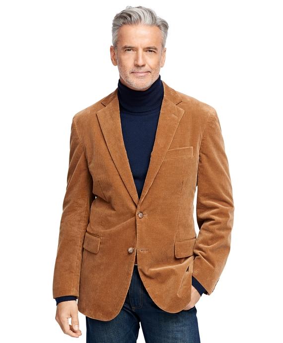 Madison Fit Corduroy Sport Coat Tan