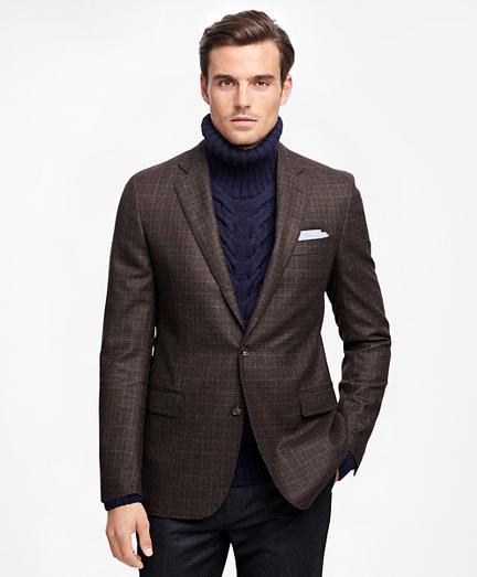 Fitzgerald Fit Saxxon Wool Multi Check Deco Sport Coat