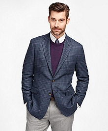 Regent Fit Plaid with Deco Sport Coat