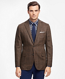 Fitzgerald Fit Herringbone with Multi Deco Sport Coat