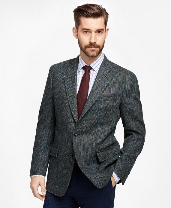 Own Make Herringbone Sport Coat