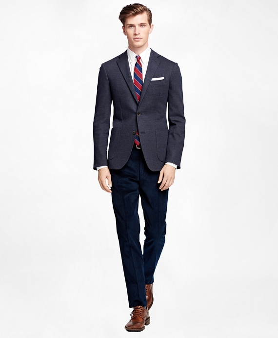 Men's Extra-Slim Fit Navy Sport Coat | Brooks Brothers