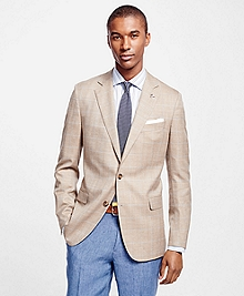 Fitzgerald Fit Saxxon Summer Herringbone with Deco Sport Coat