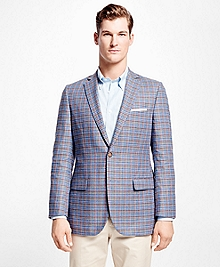 Fitzgerald Fit Multi Plaid Sport Coat
