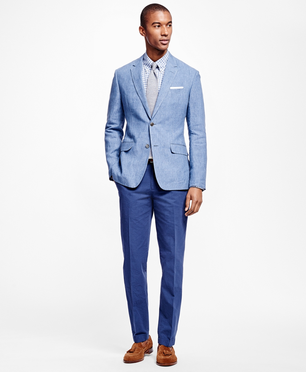 Milano Fit Linen Sport Coat - Brooks Brothers
