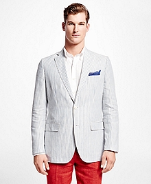 Fitzgerald Fit Stripe Linen Sport Coat