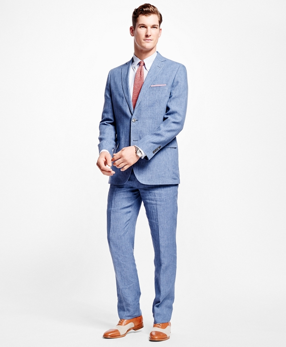 Fitzgerald Fit Linen Sport Coat - Brooks Brothers