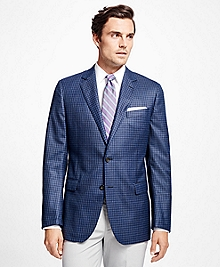 Fitzgerald Fit Saxxon Wool Multi Check Sport Coat