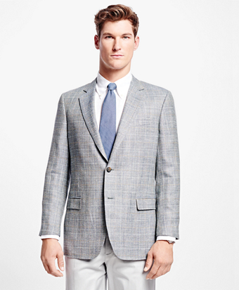 Fitzgerald Fit Multi Windowpane Sport Coat