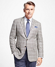 Madison Fit Tic with Multi Windowpane Sport Coat