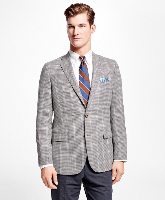 Fitzgerald Fit Houndstooth with Deco Sport Coat Black-White