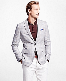 Milano Fit Multi Plaid Sport Coat