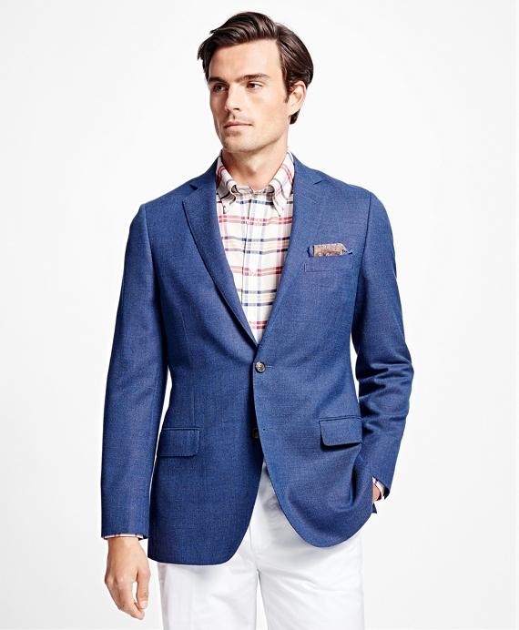 Fitzgerald Fit Blue Windowpane Sport Coat Blue
