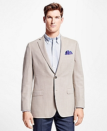 Fitzgerald Fit Red Hopsack Sport Coat