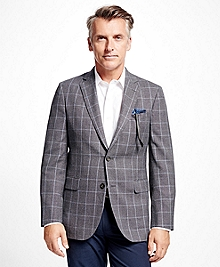 Madison Fit Windowpane Sport Coat