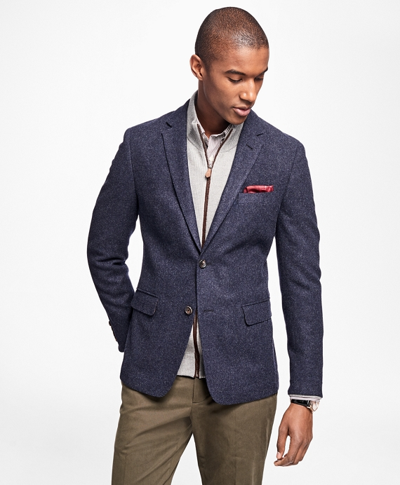 Milano Fit Lambswool Sport Coat - Brooks Brothers