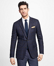Regent Fit Multi-Windowpane Sport Coat