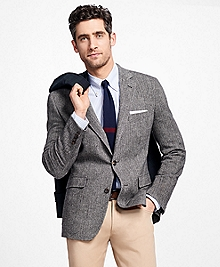 Regent Fit Herringbone Sport Coat