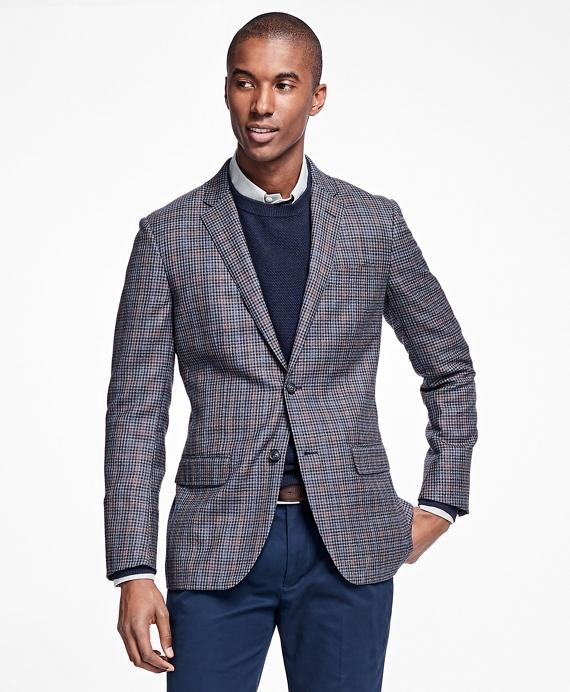 Milano Fit Multi-Check Sport Coat Grey