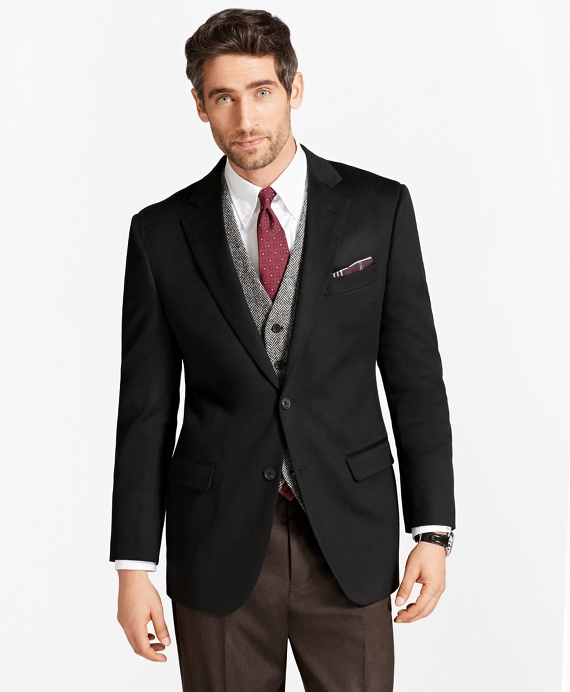 Madison Fit Cashmere Sport Coat Black