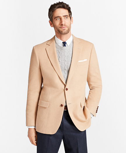 Madison Fit Camel Hair Sport Coat