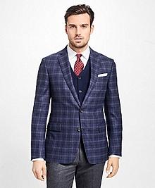 Regent Fit Multi-Windowpane Flannel Sport Coat