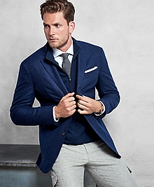Golden Fleece® Blue Cashmere Sport Coat