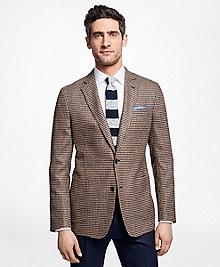 Regent Fit Houndstooth Sport Coat