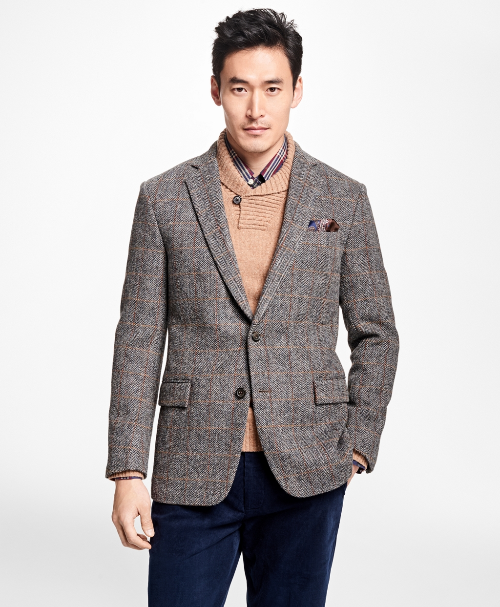 Men&39s Sport Coats and Vests | Brooks Brothers