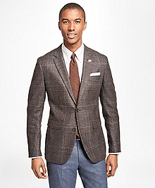 Milano Fit Saxxon Wool Plaid with Windowpane Sport Coat